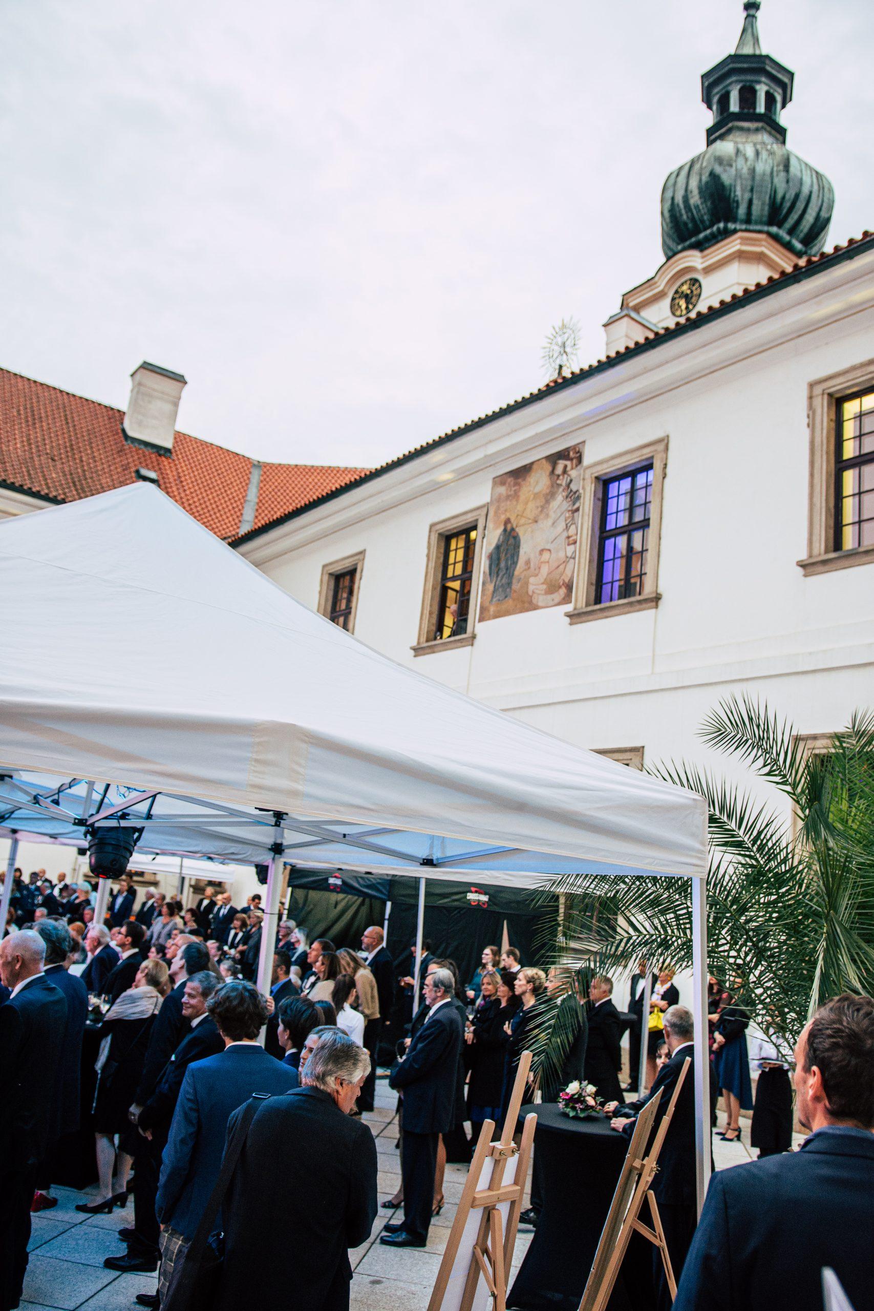 Břevnovský klášter atrium