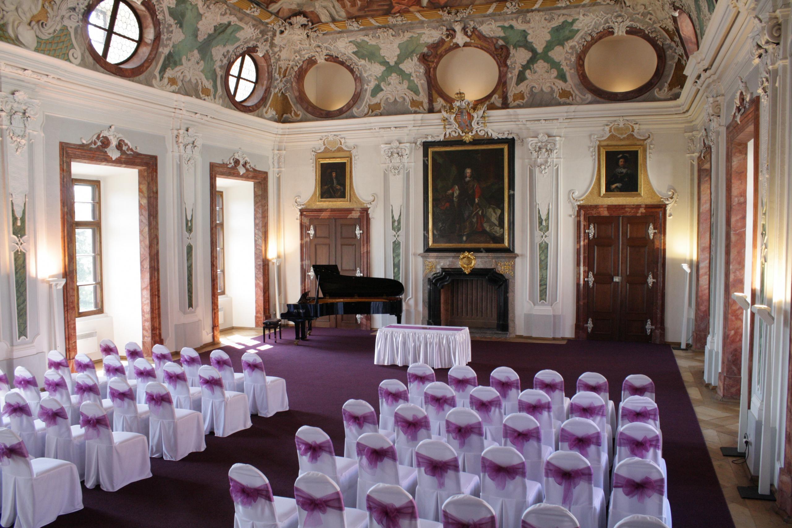 Svatba v Tereziánském sále